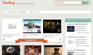 video-blog-template