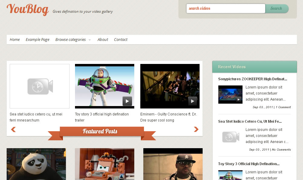 When Using A Video Blog Template, Be Sure To Personalize It
