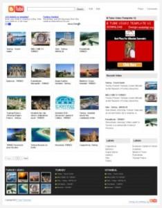 video-blog-template