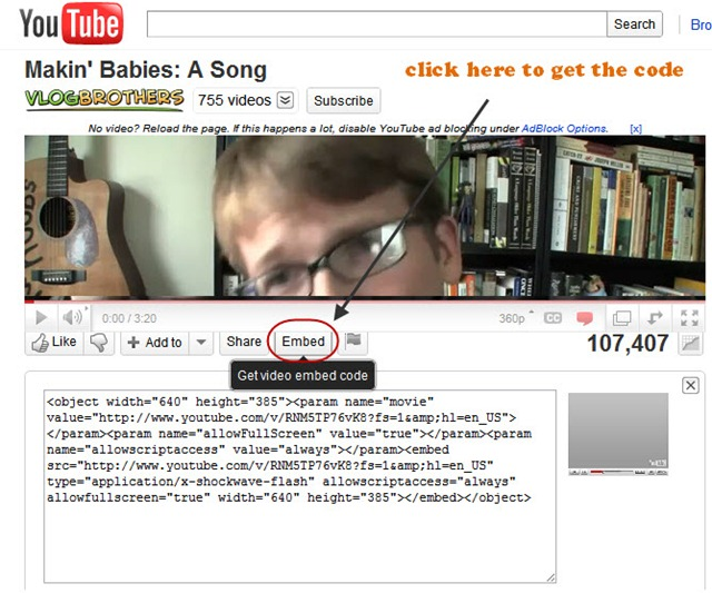 Should You Customize Youtube Embed Code to Make Your Video ...