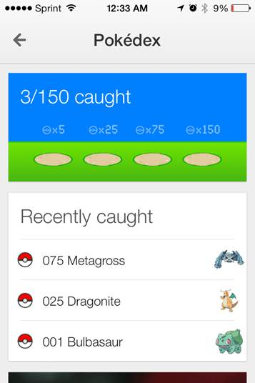 Google Maqps Pokedex