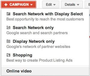 create preroll ad campaign adwords